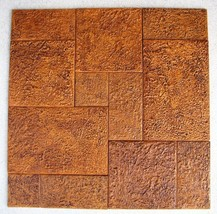 3 TILE MOLDS MAKE 100s OF 12x18 TILES @ $0.35 SQ. FT. FOR CONCRETE FLOORS WALLS image 2