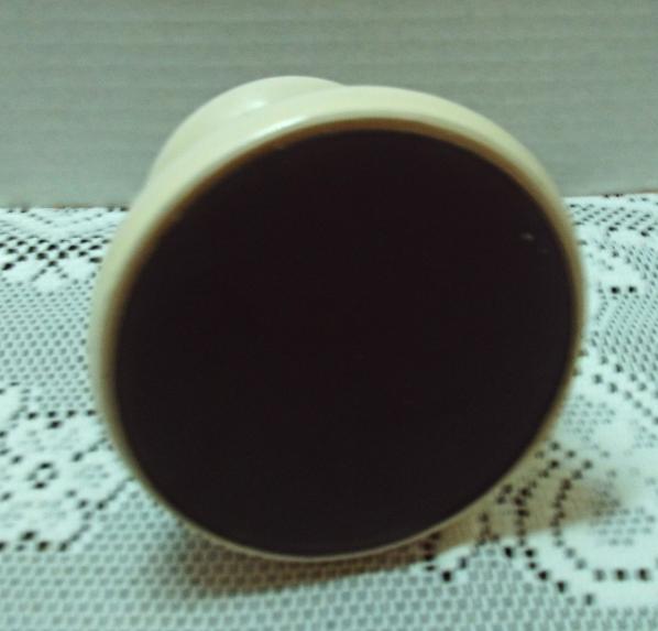 9168bc8e31c Vintage Stoneware No Spill Wide Bottom Coffee Mug // Duck Design Travel Mug