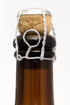 1000 BELGIAN BEER BOTTLE WIRE HOODS WITH GOLD CAPS - MUSELET - FREE USA ... - $128.65