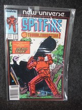 Marvel Comic Book Spitfire and The Troubleshooters November  1986 Near Mint - $1.34