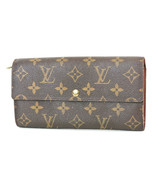 Authentic LOUIS VUITTON Sarah Long Wallet Monogram Zippered Coin Purse #... - $249.30
