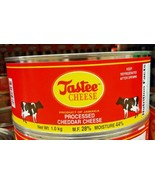 1 Tin Tastee Jamaican Cheddar Cheese  1kg / 2.2 pounds - $44.55