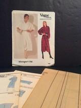 Vogue Designers Sewing Pattern Blassport 1067 8 10 12 Dress Loose Fit Un... - $14.61