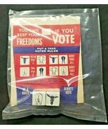 Rare Vintage 1960 Politics Dice Game Ballots Vote Democrat Republican NOS - £10.97 GBP