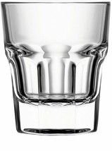 Circleware 42790 Scorchers Shot Set of 6 1.5 Ounce Clear Heavy Base Glas... - $19.99