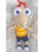 """Disney Store Phineas and Ferb - Phineas Plush Bean Bag Doll 10"""" - $18.69"""