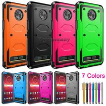 For Motorola Moto Z3 Play / Moto Z3 Z 3rd Gen Case Shockproof Hard Rugge... - $14.00