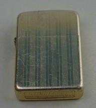 Vintage Storm King Windproof Lighter Gold Tone Flip Top Pocket TN     L8 - $9.99
