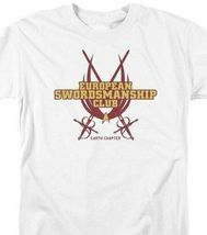 Star Trek T-shirt European Swordsmanship Club Earth Chpt graphic tee CBS850 image 3