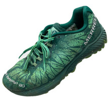 #29 Merrell Women US9 Agility Synthesis Dogfish Head Running Shoes Green J98412 - $39.59