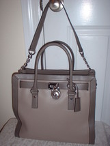 NWT Michael Kors Hamilton Frame Out Large NS No... - $257.39