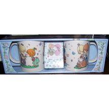 Precious Moments 2 Mug Set & Cocoa - $8.50