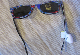 Ray Ban Wayfarer Unisex Sunglases Multi Color Hand Made In Italy 100% Uv Pro New - $249.90