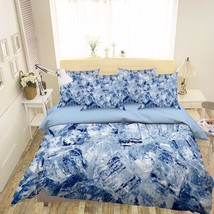 3D Ice Cubes 222 Bed Pillowcases Quilt Duvet Cover Set Single Queen King Size AU - $90.04+
