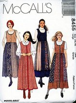 McCall's 8455 1996 Misses ' Jumper Size (16-18) - $10.78