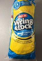 HEB Wring & Lock Mop Replacement Head New in Package - $5.93