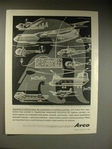 1963 Avco Ad w/ art by Artzybasheff - Military Mobility - $14.99