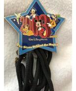 Walt Disney World Cast Exclusive The Stars Behind the Magic 2003 Lanyard... - $14.50