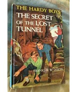 Hardy Boys #29 The Secret Of The Lost Tunnel Hardcover By Franklin W. Di... - $8.42