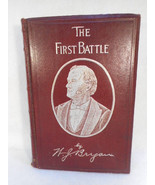 1896 The First Battle by William J Bryan Leather Bound - $94.05