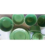Mount Clemens Petal Green Pottery - $165.00