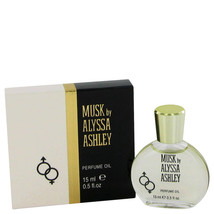 Alyssa Ashley Musk by Houbigant Perfumed Oil .5 oz for Women - $17.64