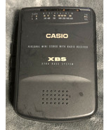 Vintage Casio Model W-105 Stereo Cassette Tape Player Walkman - Radio Only! - $8.90