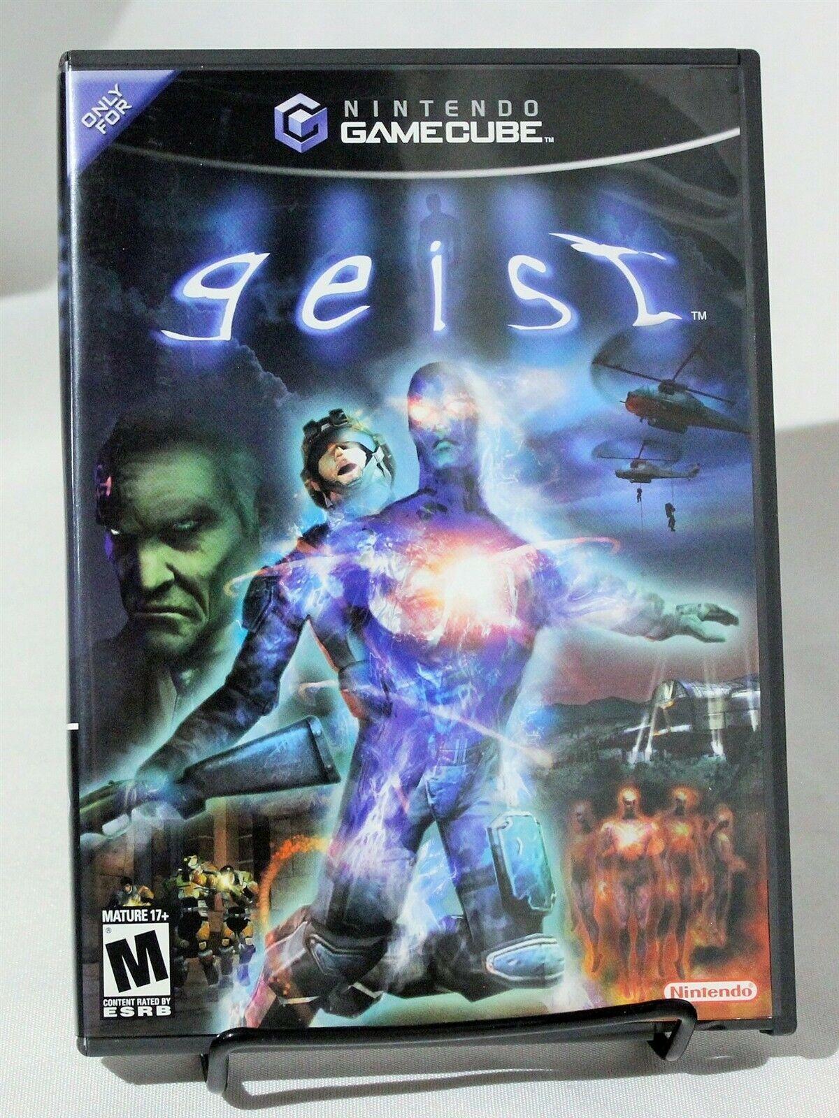 Geist Nintendo Gamecube GC Complete CIB M-Rated