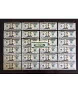 50 BILLS PROP MONEY REPLICA 20s All Full Print For Movie Video Films etc. - $19.99