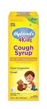 Hyland's, Cough Syrup, 4 Kids, with 100% Natural Honey, 4 fl oz - $5.99