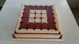 Tak box set made from purple heart,birdseye maple,wenge,and acrylic - $249.99