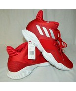 Adidas Explosive Bounce 20 High Basketball Shoes US Mens Size 19 Red BB7... - $88.98