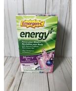 Emergen-C Energy Plus 250mg Energy Drink Mix, 0.33oz - 18 Pack one box E... - $53.22