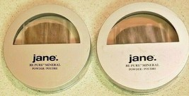 Jane Be Pure Mineral Pressed Powder 01 Colorless, 02 Natural SEALED (REA... - $16.75