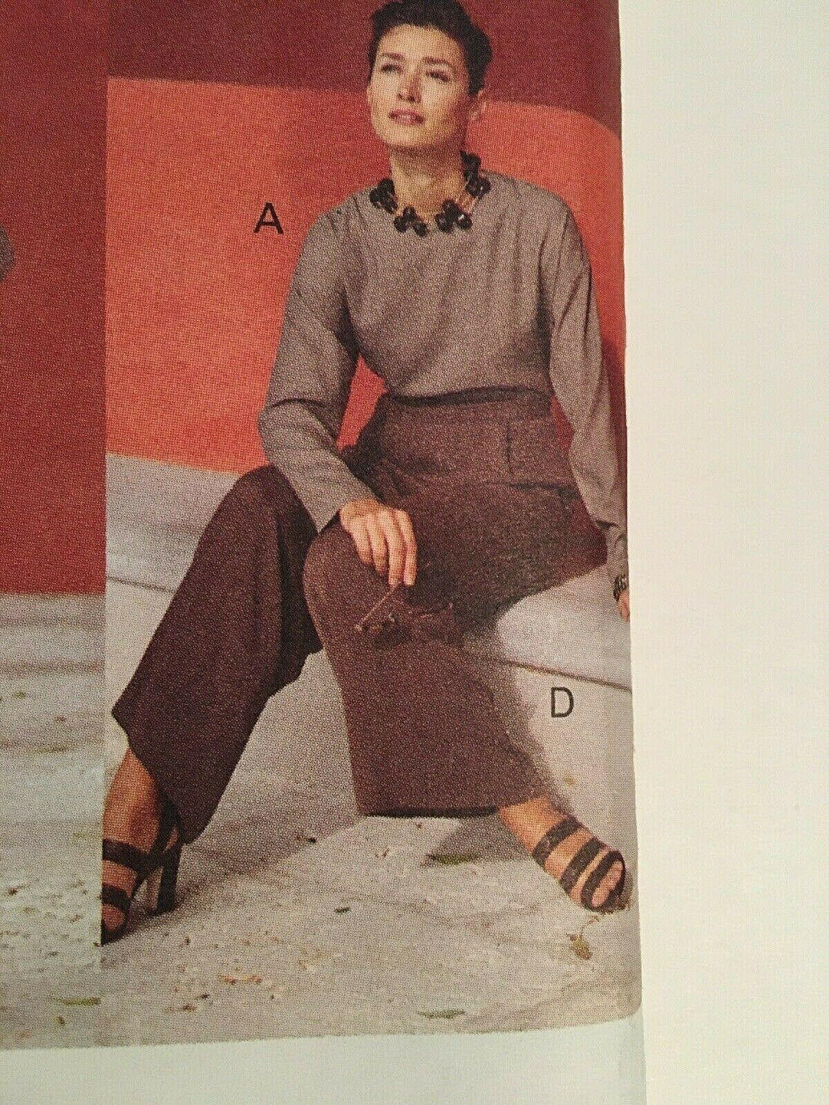 Vogue Sewing Pattern  # 1426 SZ 20-22-24 Dress, Top, Pants, Skirt. Jacket Uncut image 5