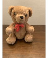 Rare Vintage 1983 DAKIN Teddy Bear JOINTED Stuffed Plush Animal Toy 8 inch. - $18.95