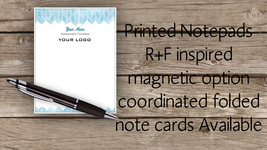 Stationary Note Pad - direct sales -light blue ... - $15.00