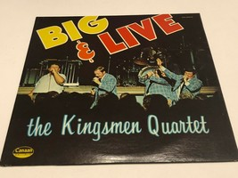 33 Record : The Kingsmen Quartet : Big & Live - $20.00