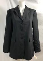 Talbots Black Italian Wool Blazer, Womens Size 6, NWT $178 - $37.99