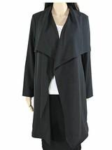 Alfani womens  Cowl Neck Jacket,black size large - $28.50