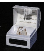 Baptism personalised gift crystal glass Angel poem box unisex  Unique #1 - $30.68