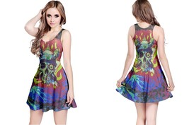 Casual Skull Rock Music Reversible Dress - $21.99+