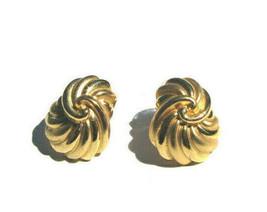 "Joan Rivers ""Knot"" Gold-Tone Earrings - see full description & photos - $5.39"