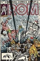 (CB-15} 1982 Marvel Comic Book: ROM #35 { Sub-Mariner app. } - $5.00