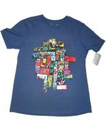 Disney Magasin Marvel Homme Bleu Avengers T-Shirt - $17.01