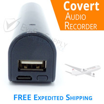 "Voice Activated Listening Device Audio Bug 8GB ""Bugging"" Spy Recorder Lo... - $157.27"