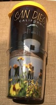 TERVIS TUMBLER TRAVEL CUP MUG 24 oz HOT/COLD SAN DIEGO California OLD PO... - $18.95
