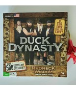 Duck Dynasty Redneck Wisdom Family Party Board Game - $5.00