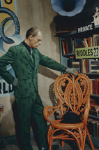 Frank Gorshin in Batman as the Riddler in green suit 18x24 Poster - $23.99