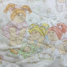 Vintage Cabbage Patch Quilt Handmade Baby Nursery - $22.59